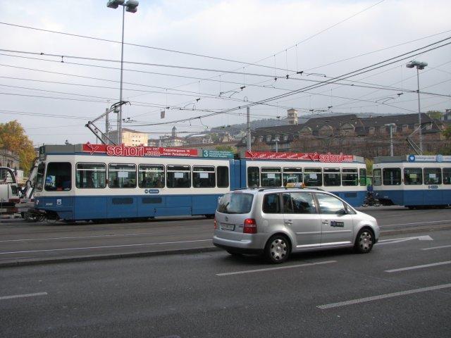 На улицах Цюриха