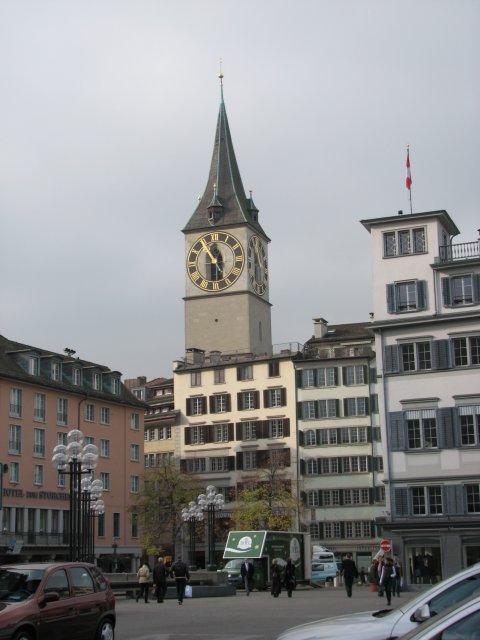 Исторический центр Цюриха