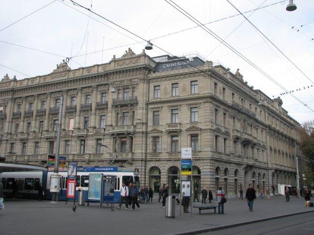Штаб-квартира банка Credit Suisse, Цюрих