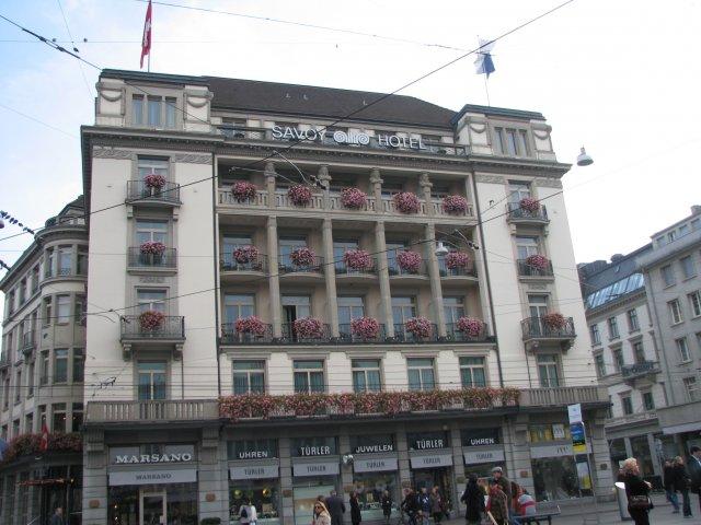 Отель Savoy, Цюрих