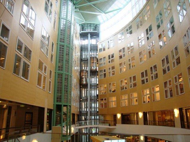 Торговый комплекс в Стокгольме, Швеция