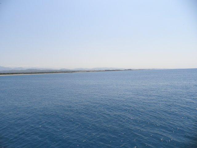Турция. Сиде. Средиземное море