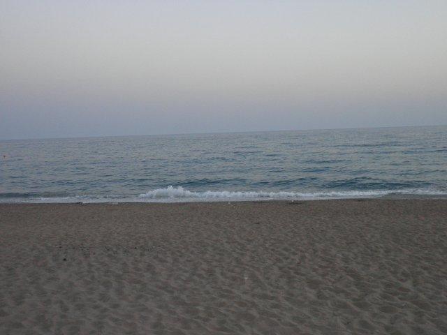 Турция. Сиде. Пляж отеля Pegasos World