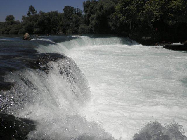 Турция. Водопад Манавгат