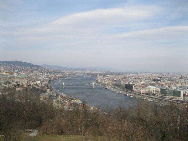 Вид на Дунай, Будапешт, Венгрия