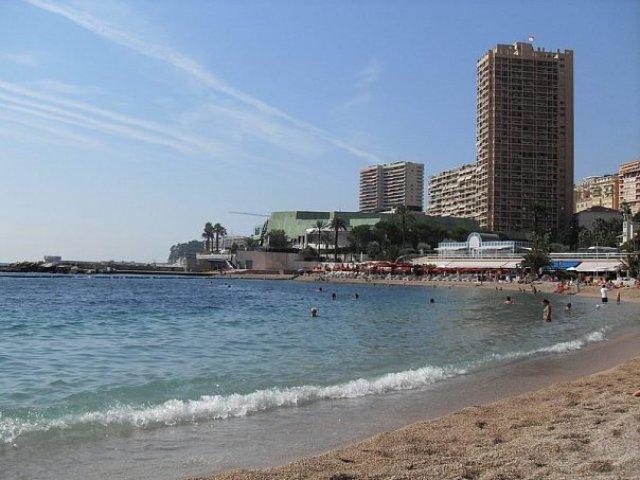 Лазурное побережье. Пляжи Монако