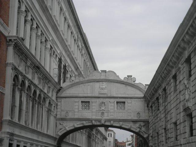 Мостик Вздохов. Венеция