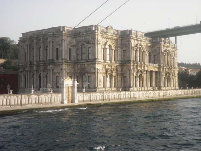 Дворец Долмабахче. Вид с Босфора