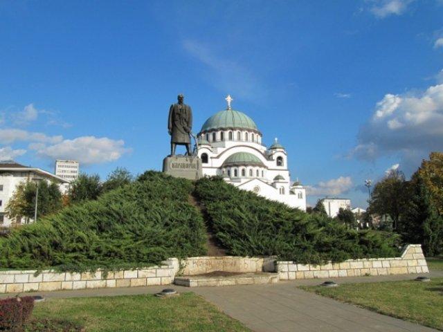 Сербия. Белград. Храм Святого Саавы