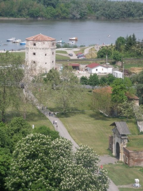 Сербия. Крепость Калемегдан