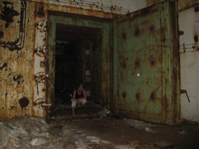 Заброшенная шахта, Украина