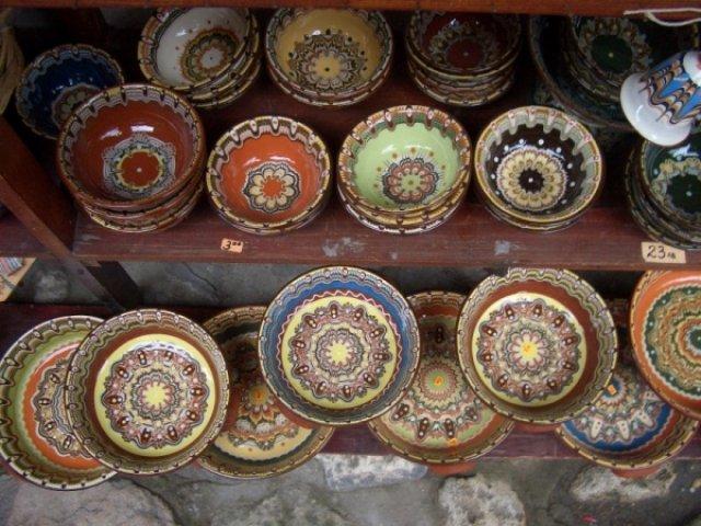 Троянская керамика, Болгария