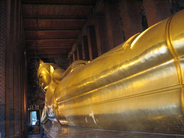 Статуя Лежащего Будды, Бангкок, Таиланд