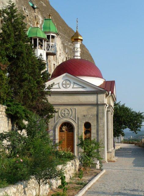 Инкерманский Свято-Климентовский монастырь в Крыму, Россия