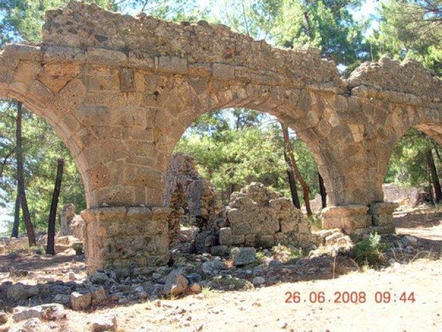 Фаселис, Турция