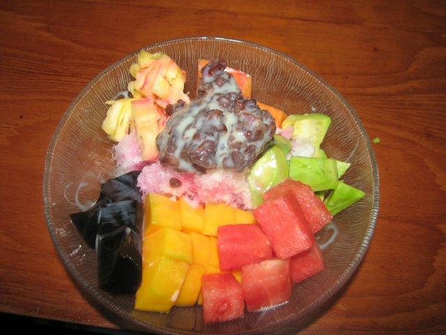Десерт в японском ресторане Фукутаро, Бали