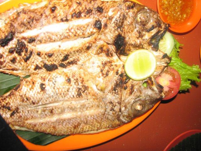 Блюдо из рыбы, Джимбаран