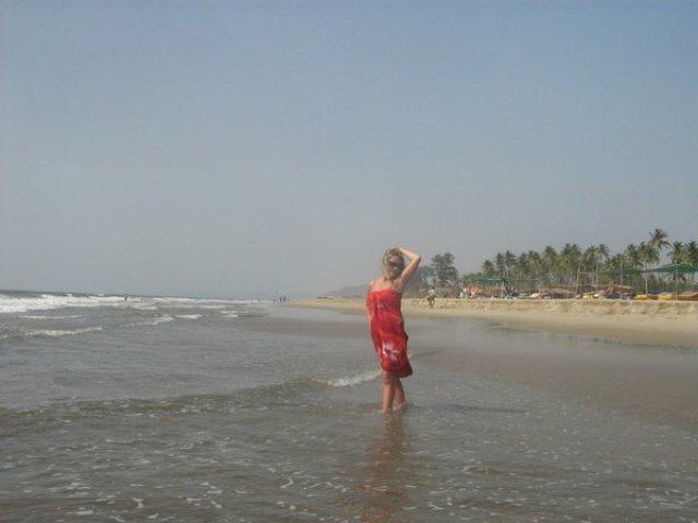 Пляж Мандрем, Гоа, Индия
