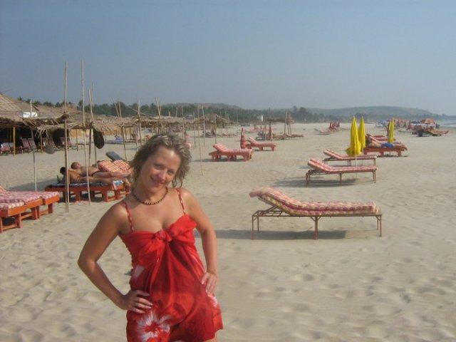 Пляж Ашвем, Гоа, Индия
