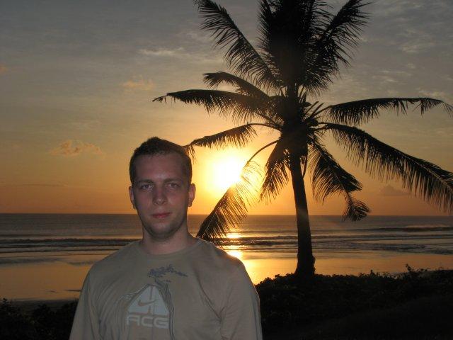 Закат в Куте, Бали
