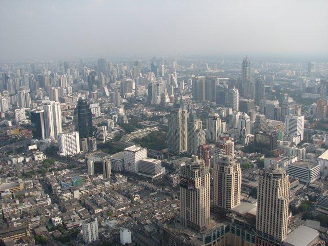 Обзор из отеля Baiyoke Sky, Бангкок
