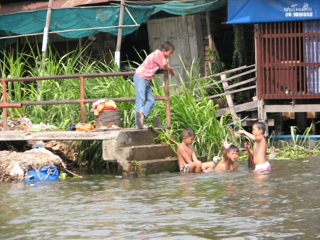 Каналы реки Чао Прайя, Бангкок