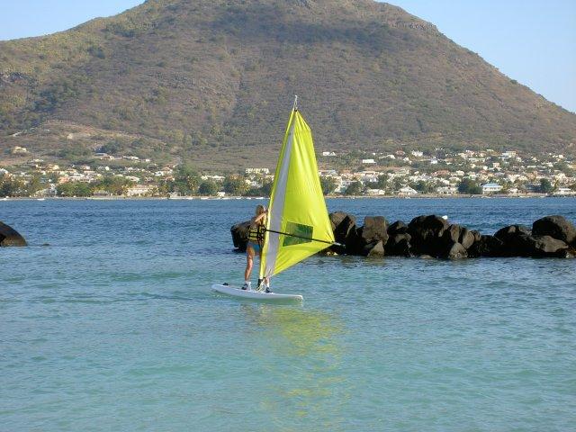 Виндсерфинг на Маврикии