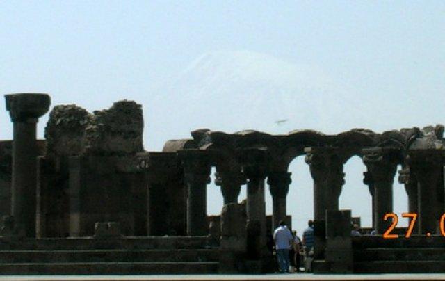 Храм Звартноц, Ереван, Армения