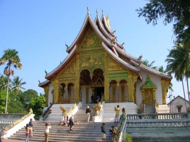 Wat Ho Pha Bang, Луанг Прабанг