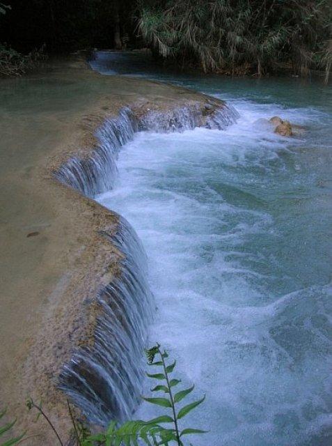 Kuang Si waterfall, Луанг Прабанг