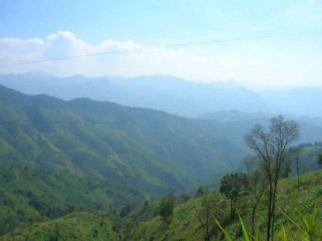 По пути к Ванг Вьенгу