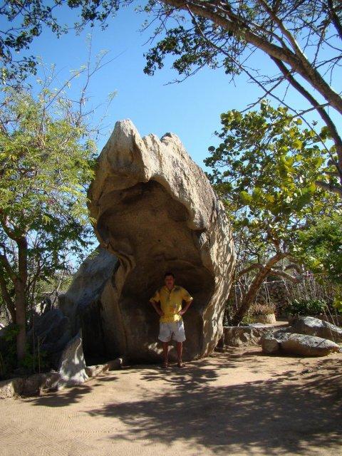 Каменно-кактусовый парк