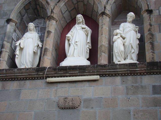 Фронтон Католического собора