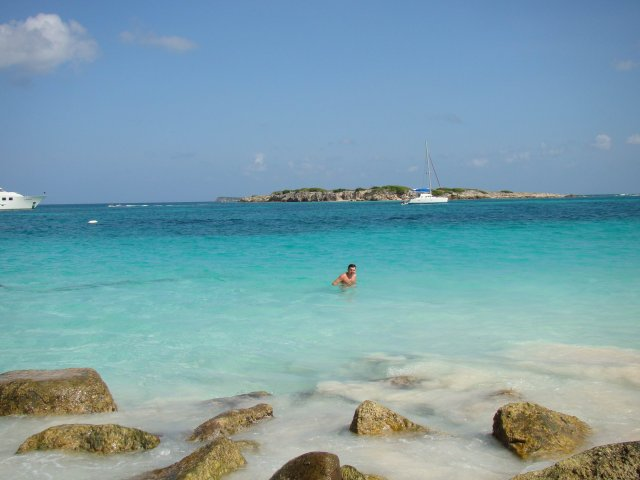 Лазурь острова Сан-Мартен