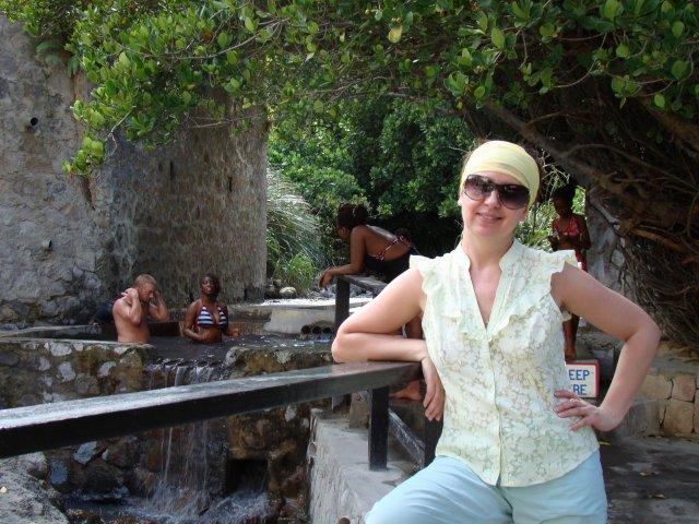 Термальный бассейн, остров Сент-Люсия