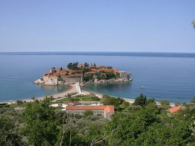Свети Стефан, Черногория