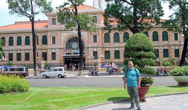 Хошимин, здание почты, Вьетнам