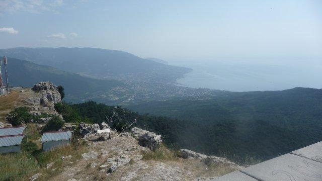 Вид на Ялту, Крым