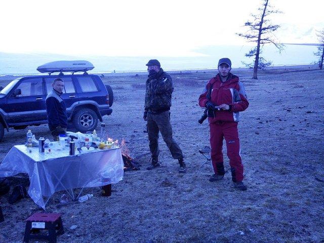 Ужин в Хубсунгуле, Монголия