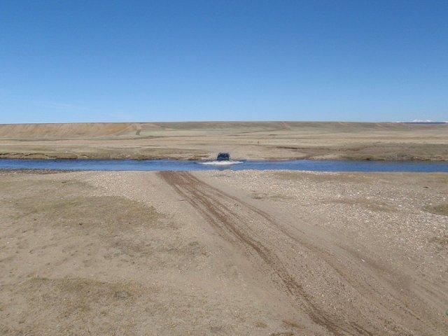 Дорога вдоль Хубсунгула, Монголия