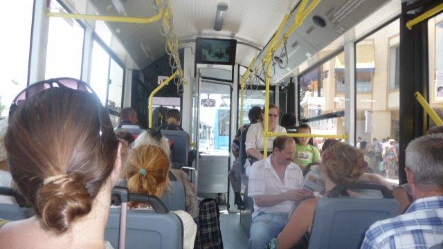 Троллейбус в Симеизе, Крым