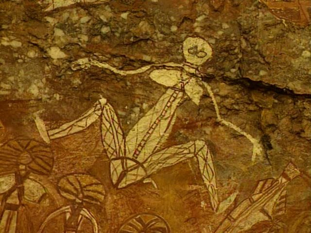 Рисунки на скале Маланге, Австралия