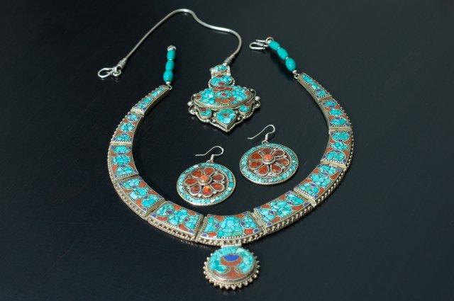 Серебряные украшения, Индия