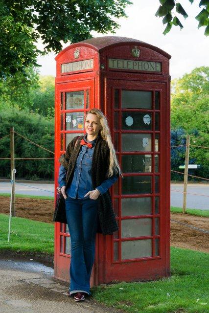 Красная телефонная будка, Лондон