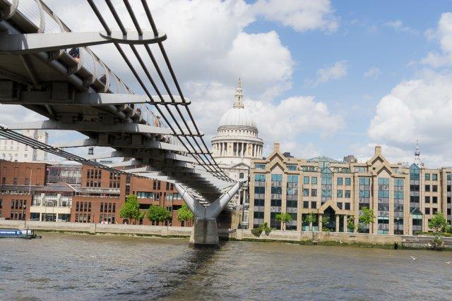 Круиз по Темзе, Лондон