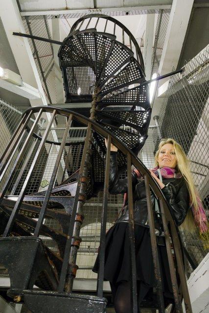 Подъем по крутой лестнице, собор св. Павла, Лондон