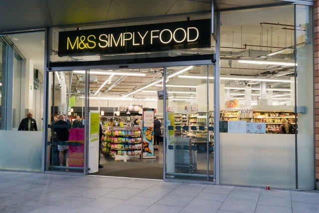 Сеть супермаркетов Marks&Spencer, Лондон