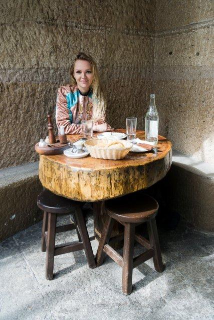 Пещерный ресторан Tagoror, ущелье Гуаядеке