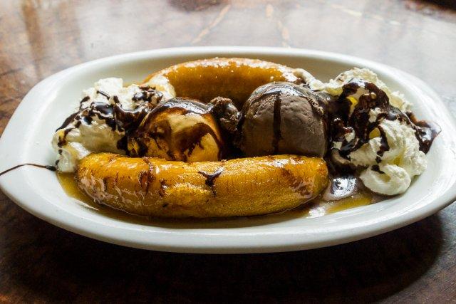 Банановый десерт - самый вкусный