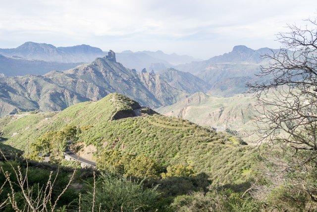 Горные пейзажи Гран-Канарии